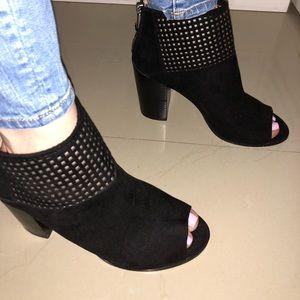 Report Open toed booties